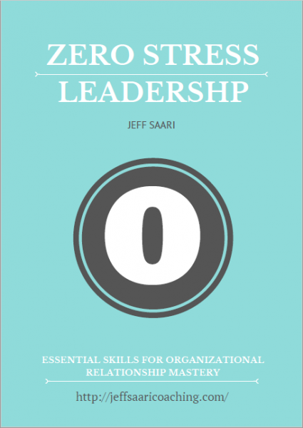 zero stress leadership cover image